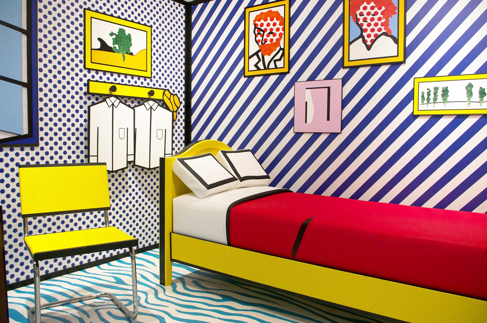Roy Lichtenstein, lasting influence, room in arles