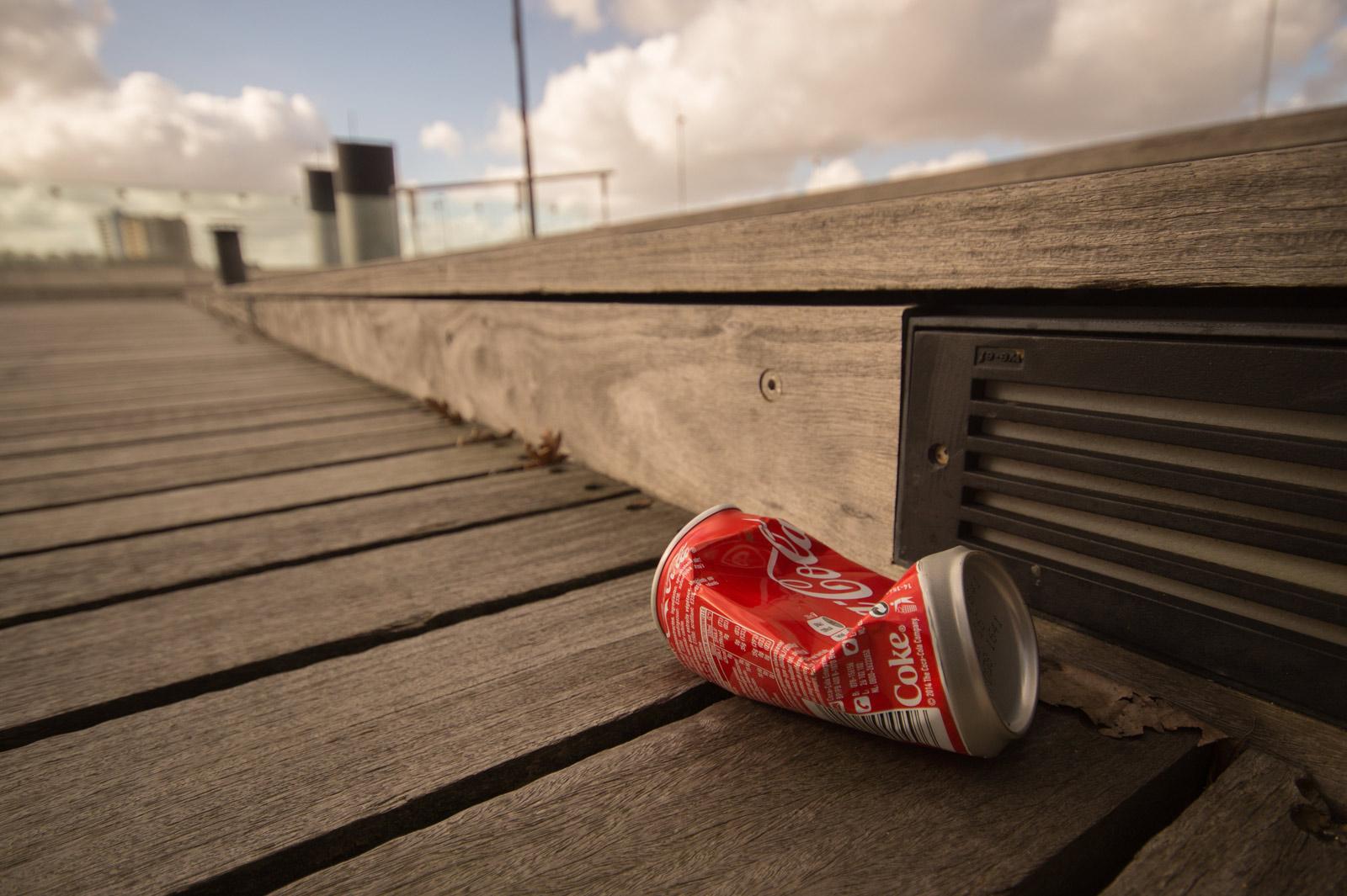 Kunstenaars die met afval werken