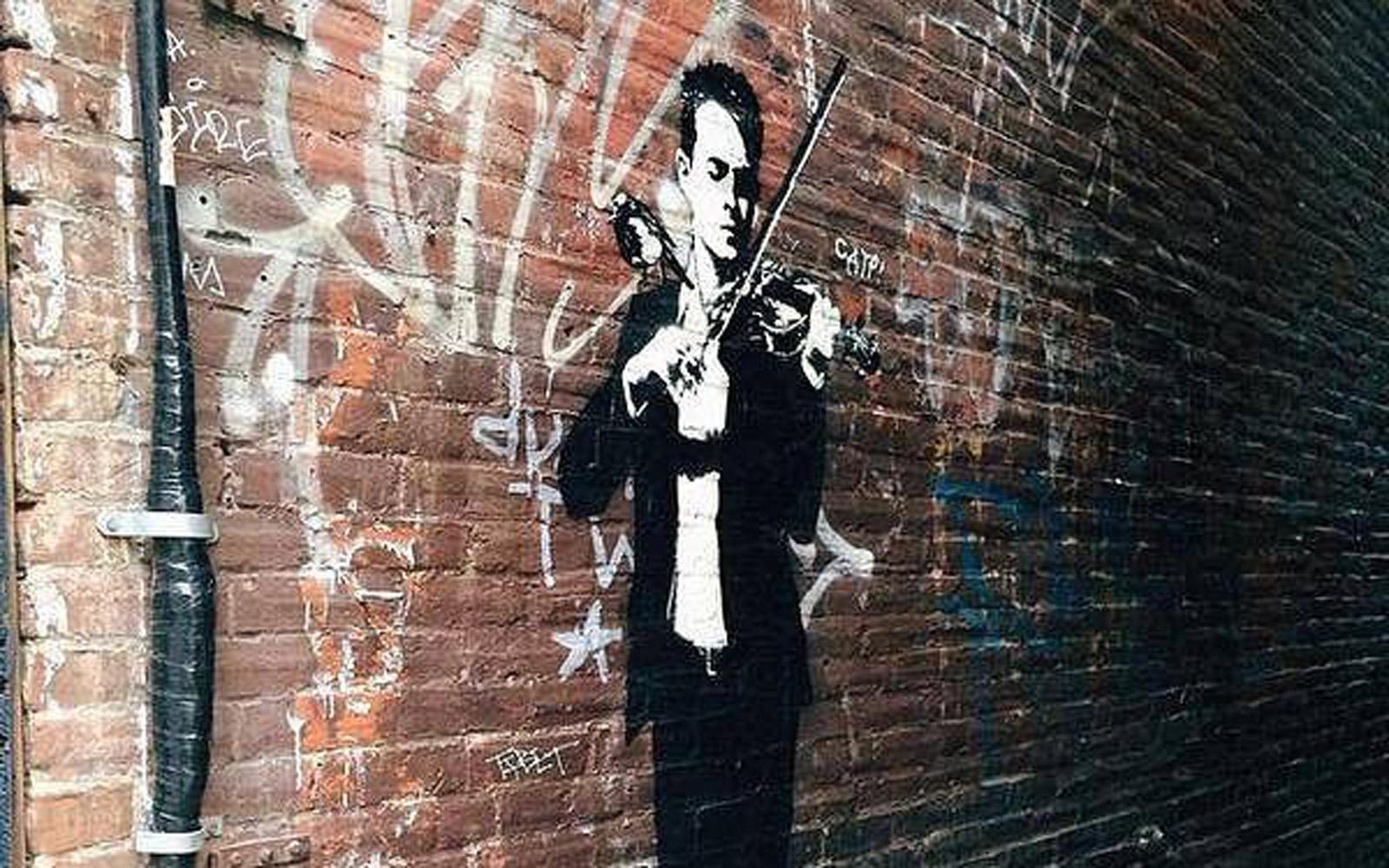 Ontstaan van street art