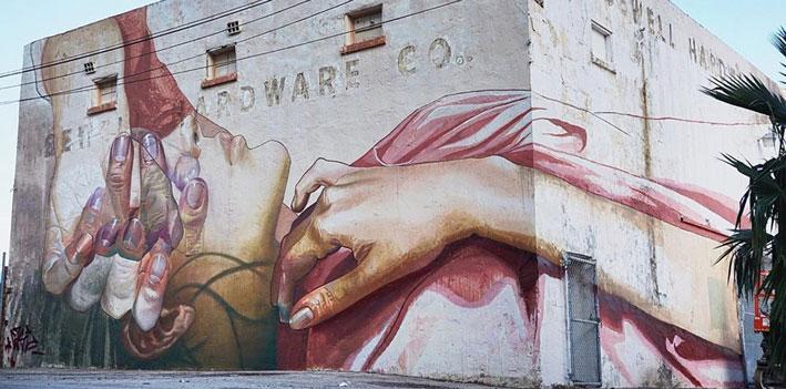 ontstaan street Art