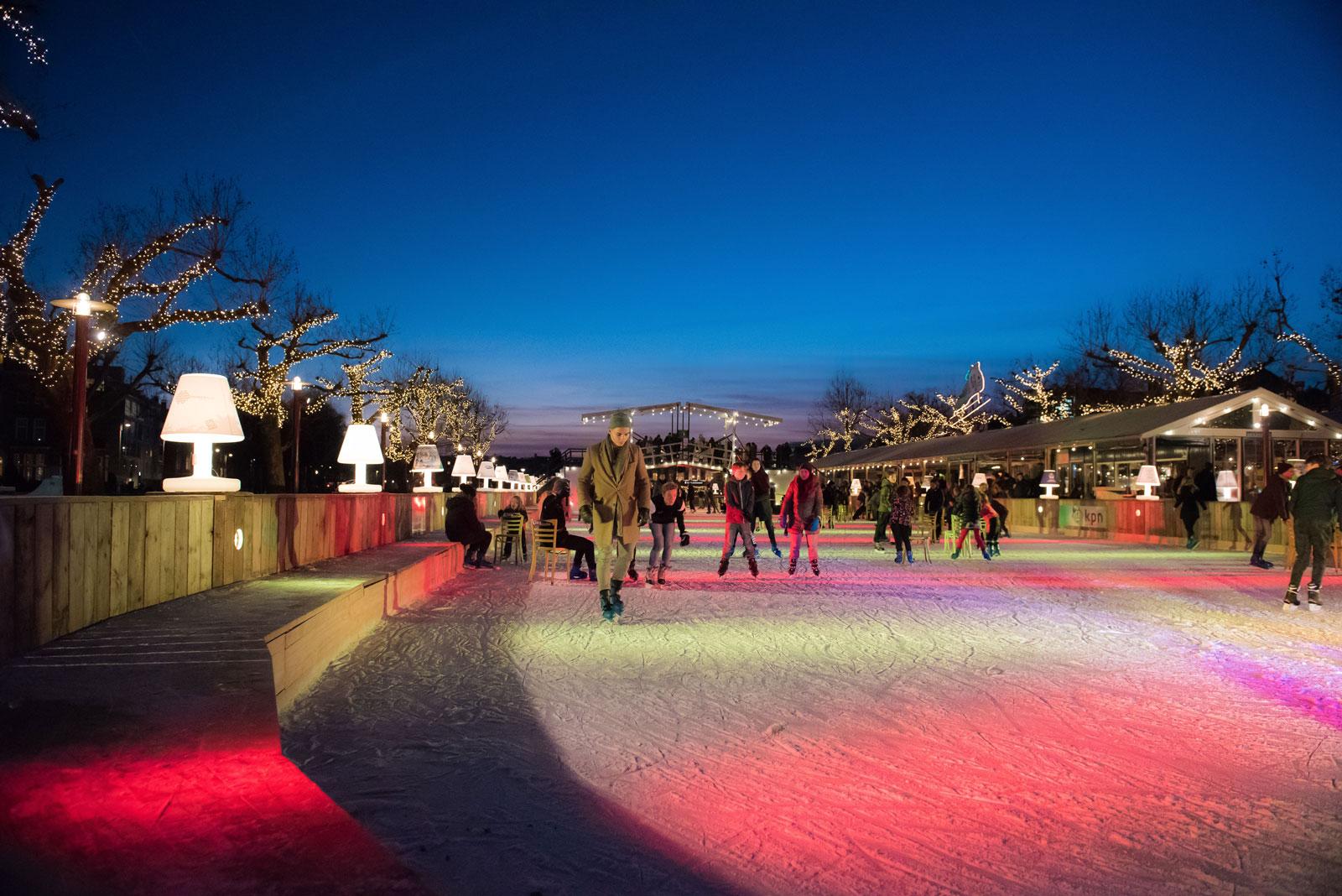 schaatsen museumplein amsterdam