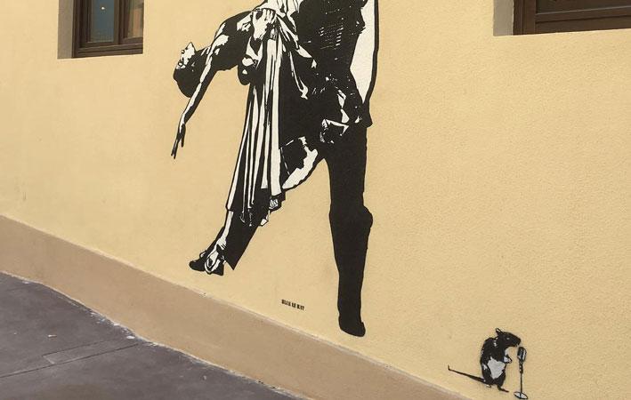 street Art kunstenaars blek le rat