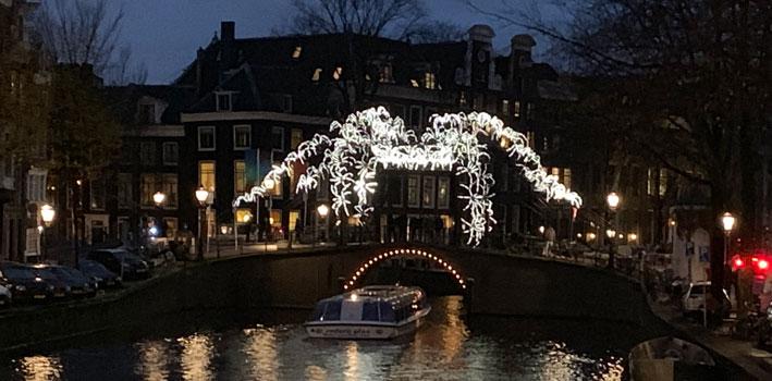 amsterdam light festival wandelroute-2018