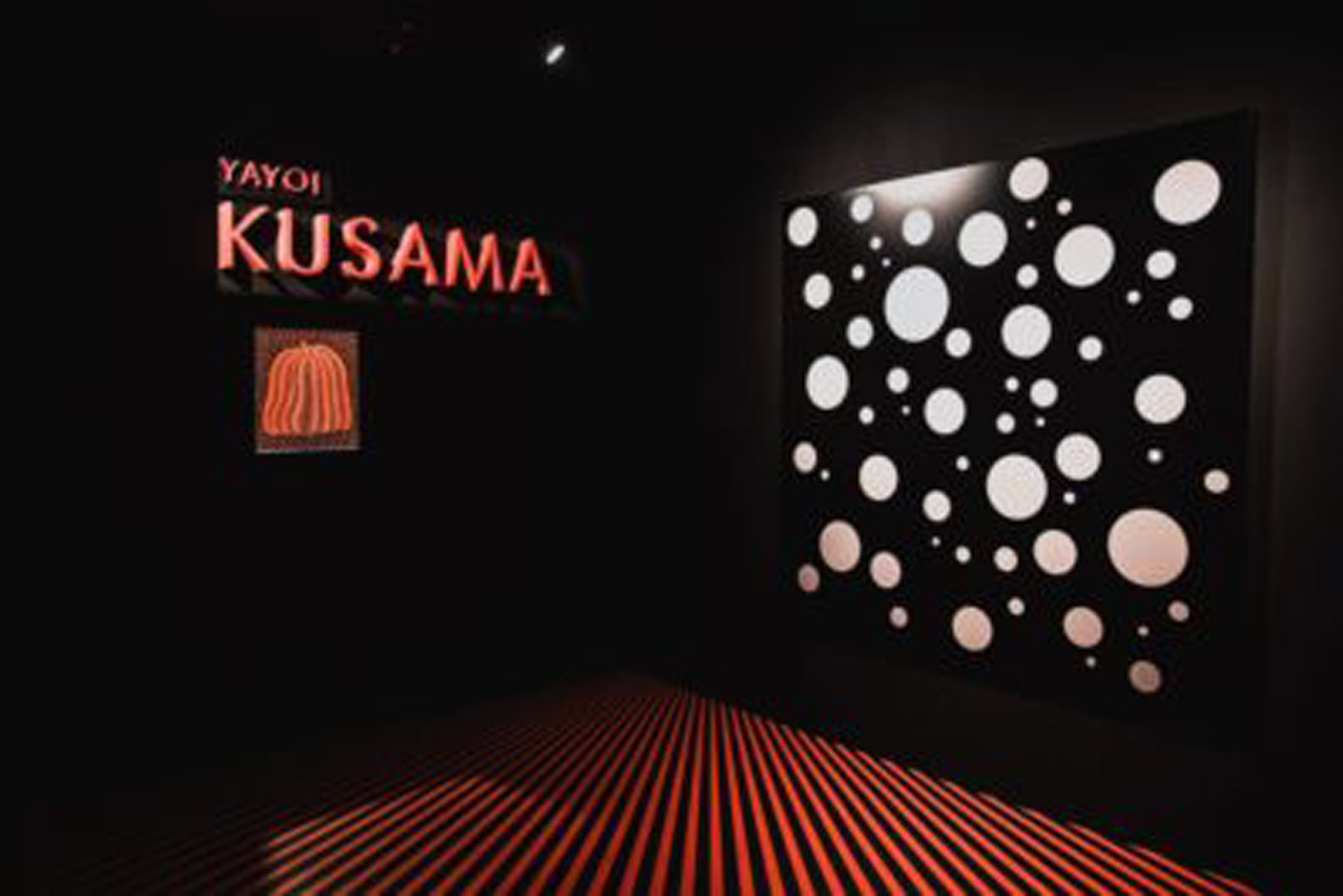Kusama dot art