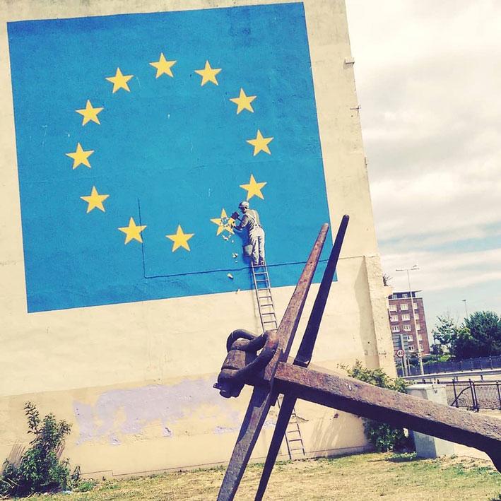 banksy brexit kunstwerk