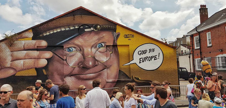 brexit art odeith