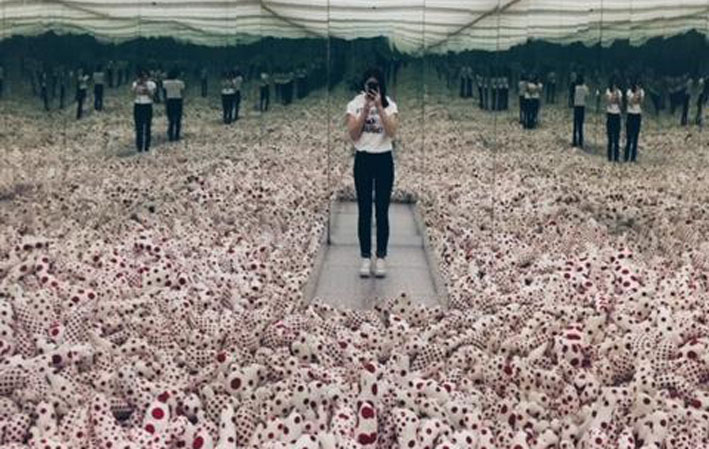 installation art kusama