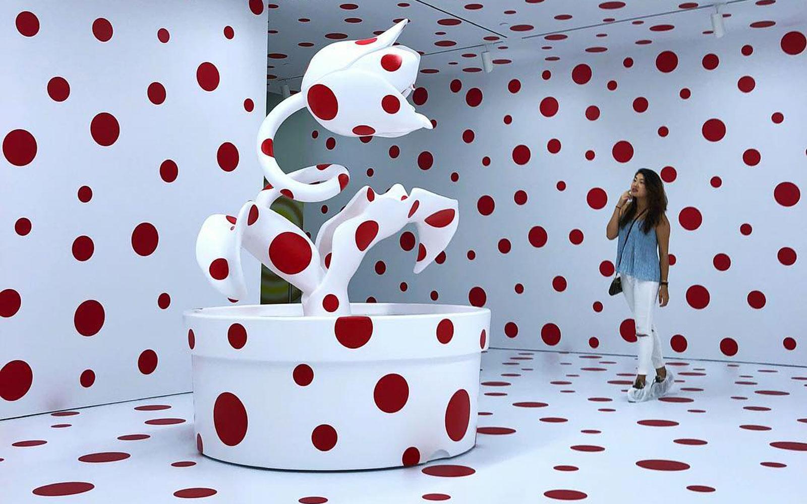Kusama & haar Dot Art