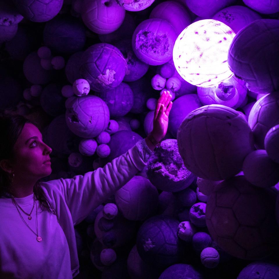 Daniel Arsham – Amethyst Ball Cavern