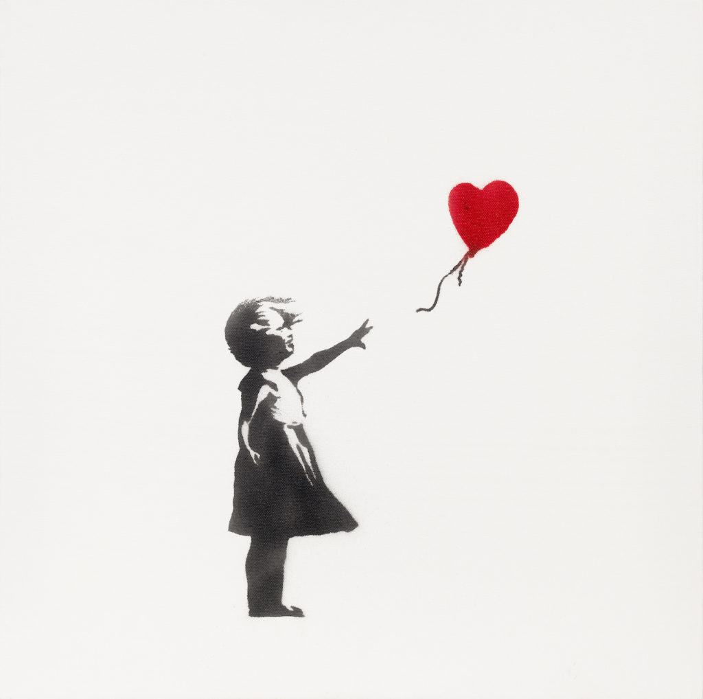 Moco Top 10 List - Banksy GWB